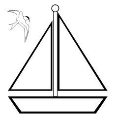 Molde, Feltro and Sailboats on Pinterest