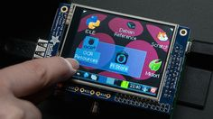 The Adafruit PiTFT Makes Adding a Touch Screen to a Raspberry Pi Easy