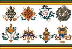8 Auspicious Signs of Tibetan Buddhism