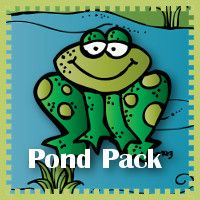 Free Pond Pack - Over 85 pages to go with the book Jump Frog Jump. For ages 2 to 7. 3dinosaurs.com