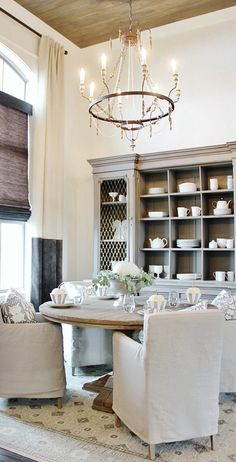 Farmhouse Dining Room -Liked by http://deliciousdecors.com/ #homestaging #westlakevillage #woodlandhills