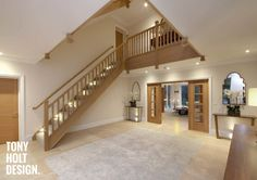 54 New ideas exterior stairs architecture stairways Design Hotel, House Design, Design Design, Up House, House Stairs, Style At Home, Barn Conversion Interiors, Oak Frame House, Self Build Houses