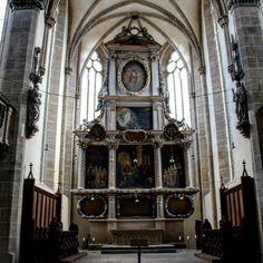 Im Dom von Halle Blick auf den Altar #halle