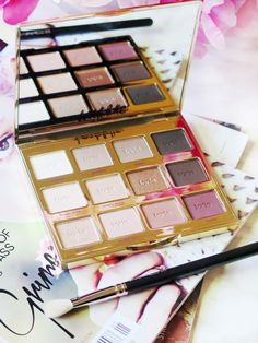 A Warm Tone Lover's Dream   Tartelette 2 In Bloom Palette Review & Swatches   labellesirene.ca