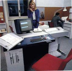 Olivetti, Sistema BCS 2035, CPU 8bit, FDU 2X320 o 2X740 Kb, Basic bussines, nativo Olivetti