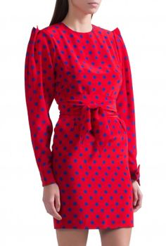 Платье из хлопка и вискозы Alexander McQueen – купить Платье в Sanahunt в Киеве и Украине.