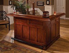 Amazon.com: Hillsdale Furniture Hillsdale Classic Side Bar, Large, Cherry Finish: Home & Kitchen