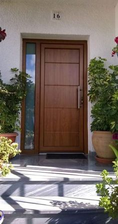 Trendy Apartment Door Decorations Entrance The Effective Pictures We Offer You About metal Door A quality picture can tell you many things. Modern Entrance Door, Main Entrance Door Design, Wooden Main Door Design, Modern Exterior Doors, Front Door Design, House Entrance, Entrance Doors, Modern Door, Bedroom Door Design