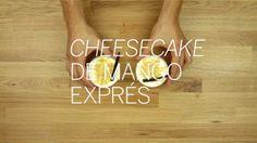 Cheescake de mango exprés. nomasdemama.com/cheesecake-expres/
