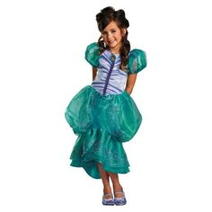 Girl's Disney Princess Ariel Couture Costume - Target Exclusive
