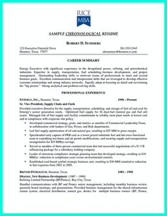 chronological resume is needed by people in making them understand how to write good resume in - How To Write Good Resume