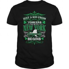 I Love Yonkers - New York ST01 SC T shirts