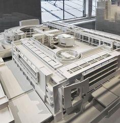 Unbuild collection #richardmeier #modelmuseum #architecture #architects #nyc : @kendrosp