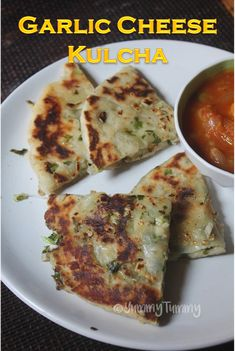 Cheese Garlic Kulcha Recipe. Super delicious, garlicky and cheesy kulcha recipe which taste so yummy hot. You can enjoy with some pickle and yogurt.