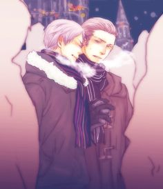 Photo of Germany and Prussia for fans of Hetalia Couples! Prussia Hetalia, Hetalia Germany, Germany And Prussia, Hetalia Funny, Gilbert Beilschmidt, Central And Eastern Europe, Hetalia Axis Powers, Cute Stories, Brother