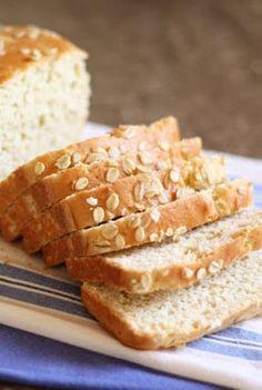 Gluten Free Oat Bread, Gluten Free Baking, Gluten Free Oatmeal Bread Machine Recipe, Oat Bread Recipe Gluten Free, Wheat Free Bread, Pains Sans Gluten, Honey Oat Bread, Pan Sin Gluten, Gluten Free Breakfasts