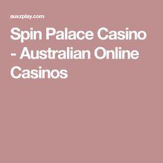 Spin Palace Casino - Australian Online Casinos