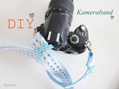 DIY Anleitung: Kameraband nähen // diy: how to sew a camera shoulder strap via DaWanda.com