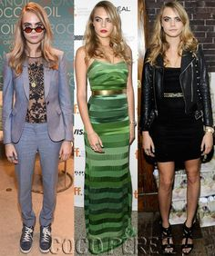 Cara Delevingne Goes From Tomboy To Glam Goddess To Rocker Chick All In One Crazy Weekend!