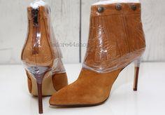 Very Volatile Adrienne Fringe Sz 6.5M Tan Closed Toe Zipped Bootie Heels NEW NIB    eBay