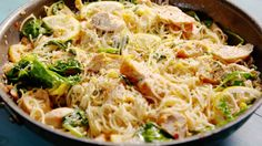 Lemon Butter Chicken Pasta