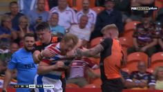 Injured Rugby League Player Miraculously Healed Once Punches Start Being Thrown