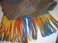 COULD THIS ALPACA HAVE COME FROM BABY LITTLE BIT??  This beautiful scarf was woven from a sport weight Alpaca yarn. The yarn was purchased from a local Alpaca Farm, Empty Pockets Alpaca Farm, where each skein of yarn has a picture of and the name of the animal from which the wool came. How cool is that!! The hand woven scarf is very light weight but extremely warm.   Check it out! https://www.etsy.com/shop/JoyfulNoiseWeaving