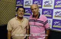 Amorim Sangue Novo: Amorim participa do programa do Zezinho Garcia na 95.3 FM de Dracena