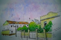 carrer Greses, Benimaclet; by Josep Castellanos.