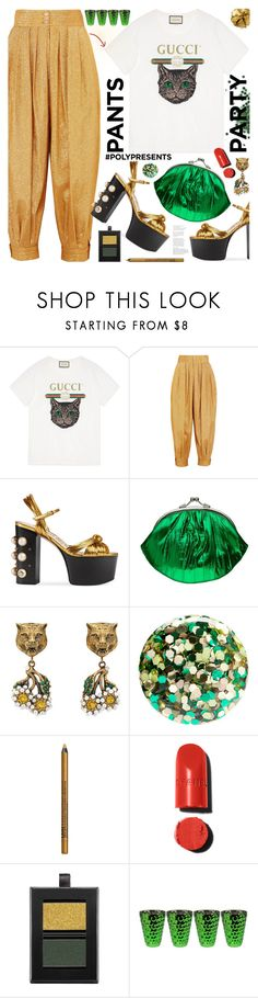 """Fancy Pants"" by tinkabella222 ❤ liked on Polyvore featuring Gucci, Nails Inc., NYX, Butter London, Pat McGrath, Fancypants and polyPresents"