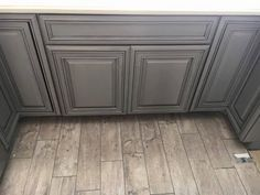 Painting and Glazing Kitchen Cabinets - YouTube