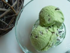 Papilles on/off: Glace menthe fraîche-chocolat au thermomix