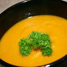 Prosta zupa marchewkowa z curry