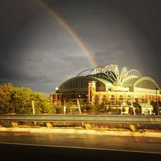 There is blue and gold at the end of this rainbow. #BREWERS