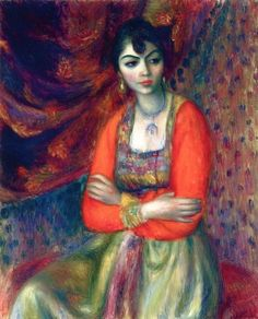 The Athenaeum - Armenian Girl by William James Glackens