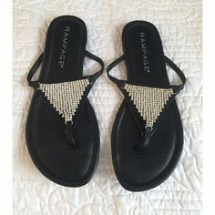 Sandals Great condition, never worn ! Rampage Shoes Sandals