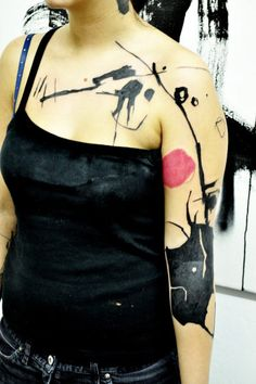 Abstract Tattoo by Lukas Musil MUSA | Tattoo No. 5775