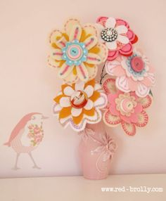 tutorial for making these gorgeous flowers----->hair accessories