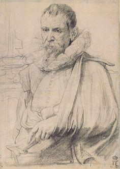 arthermitage.org - Pieter Bruegel Tekenen Portret studie