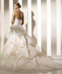 Pronovias Moka Size 10 Second-Hand Wedding Dress   Still White South Africa