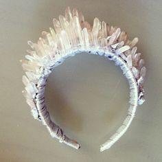 DIY Inspiration: Crystal Headband. By officialaudreykitching. I...