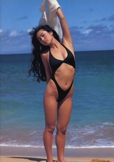 歌手【 #ZARD #坂井泉水 】セミ ... Bikini Swimwear, Thong Bikini, Swimsuits, Beautiful Asian Women, Asian Woman, Asian Beauty, Bathing Suits, Cool Pictures, Muse