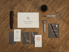 Firebelly Design: Art + Science Salons Identity and Collateral