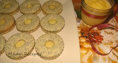 Makové kolieska s lemon curd Lemon Curd, Doughnut, Ale, Muffin, Breakfast, Desserts, Food, Basket, Morning Coffee