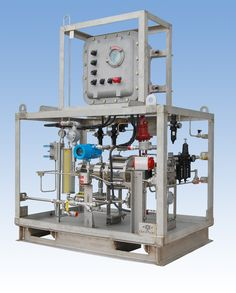 CheckPoint Class 1 Div 1 chemical intelliJECT package for BP Thunderhorse. Contains Series 8412 Pneumatic Pump.