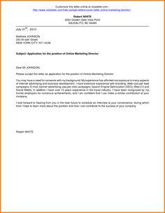 cover letter maker online free