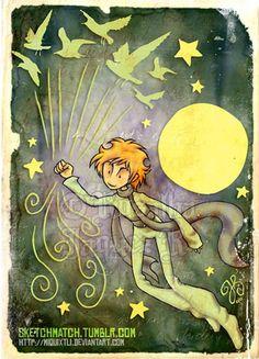 Le Petit Prince - Partido Sketch por Miquixtli