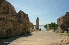 Ruins of Koknese medieval castle (Latvia)