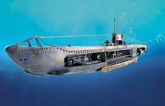 German Submarine U-47 w.Interior