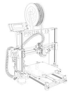 Prusa i3 Hephestos - Stampante 3D